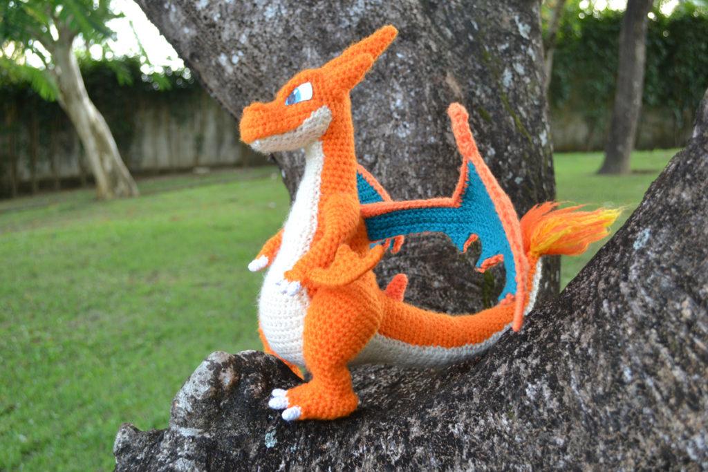 Crochet Pokémon Charizard