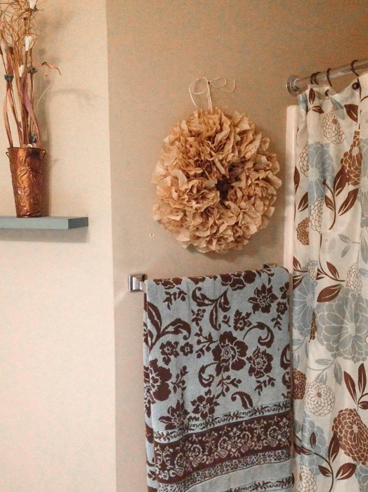 Indoor Coffee Filter Wreath