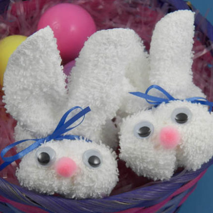 Washcloth Soap Bunny