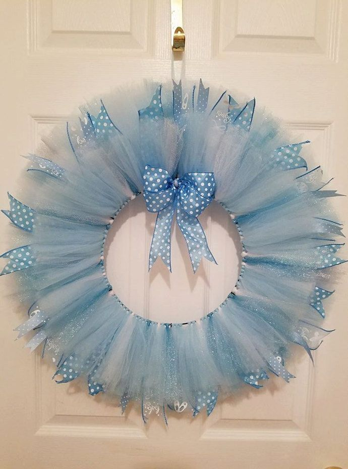 Baby Tulle Wreath
