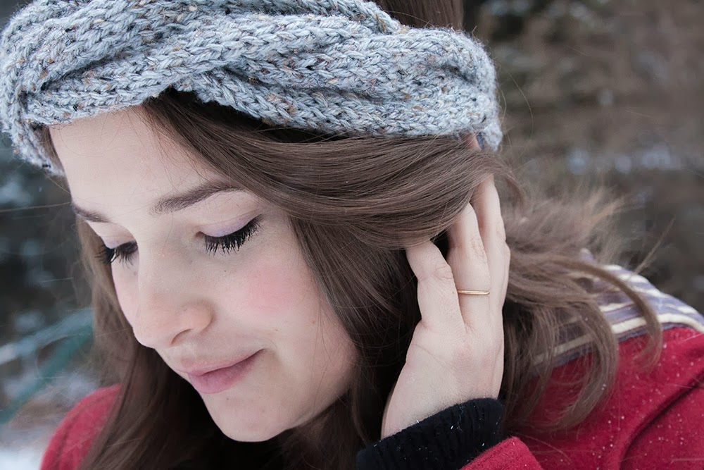 DIY Knit Braided Headband