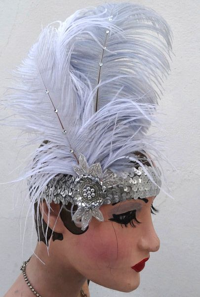 Great Gatsby Feather Headband