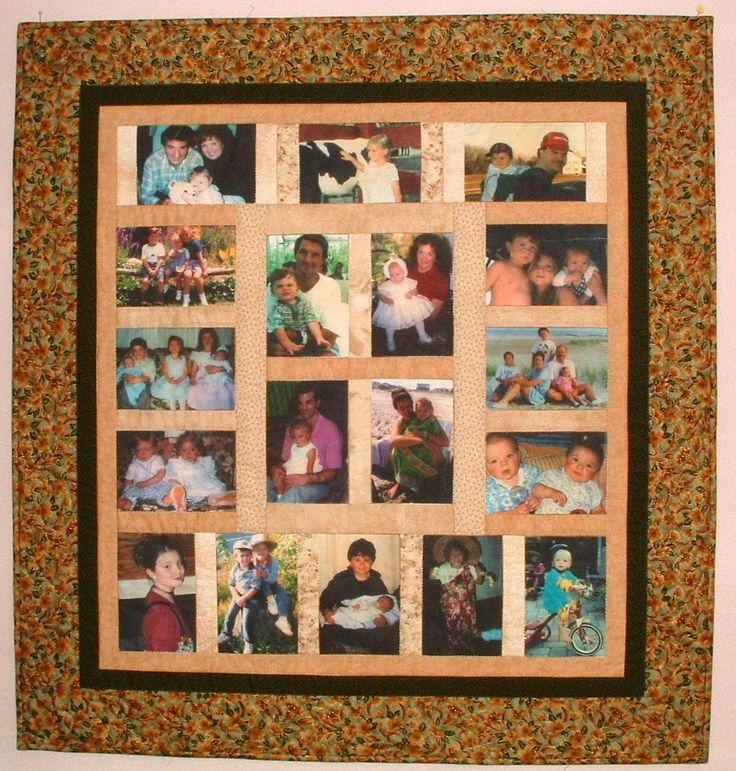 Photo Collage Quilts