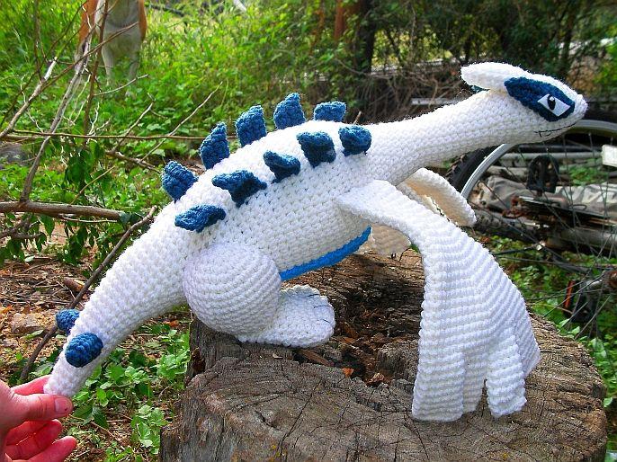 Crochet Pokémon Dragon Lugia