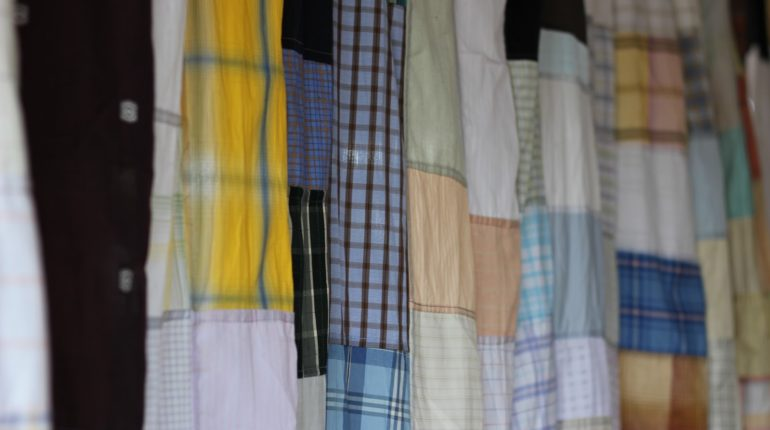 Indian Patchwork Curtains