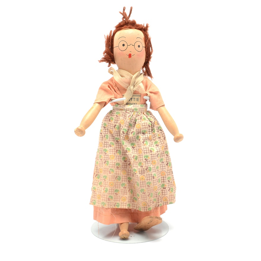 Jointed Clothespin Doll