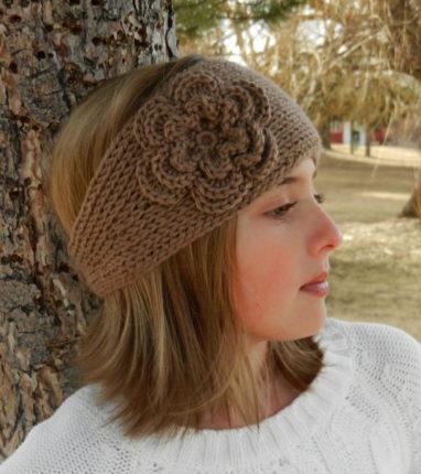 headband flower patterns