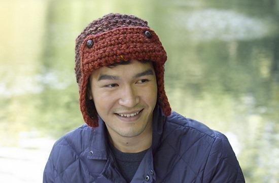 Mens Crochet Aviator Hat Pattern