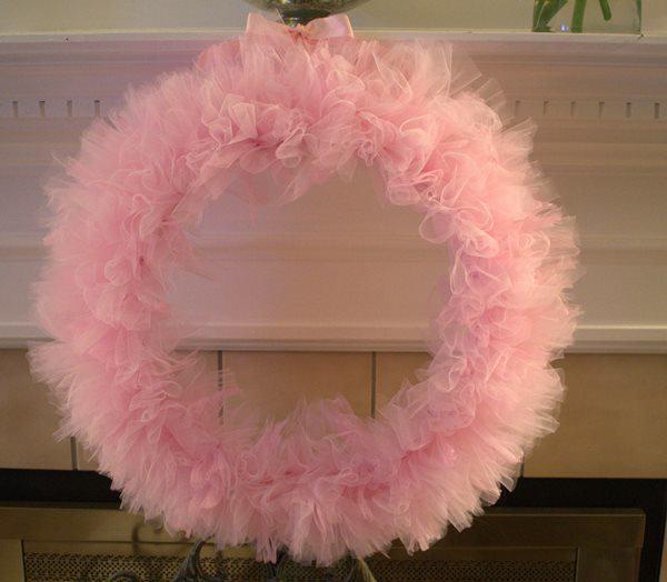 Tulle Wreath DIY