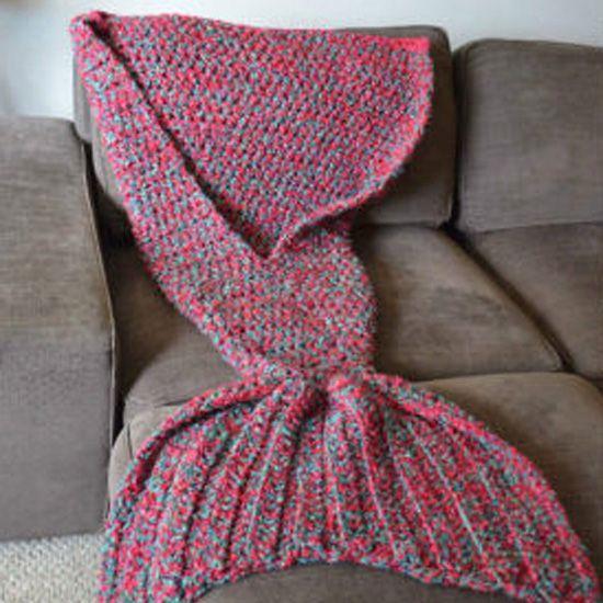 Crochet Mermaid Tail Pattern Afghan