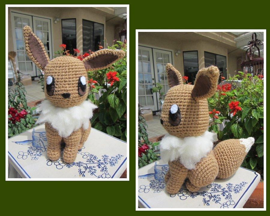 Crochet Pokémon Eevee