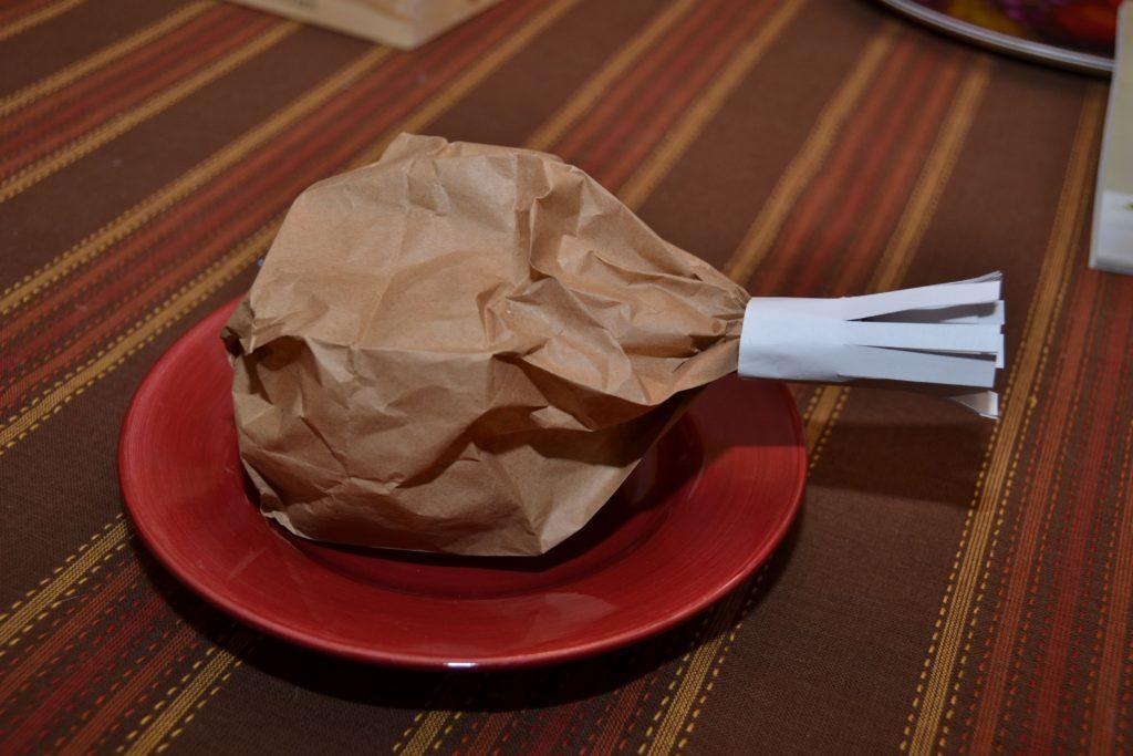 Brown Paper Bag Turkey Legs