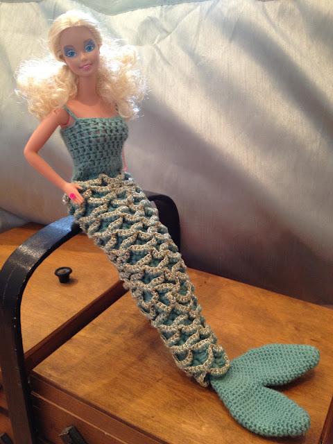 Barbie Mermaid Tail Pattern