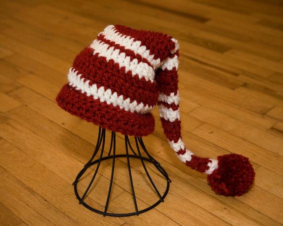 Crochet Santa Hat Pattern for Men