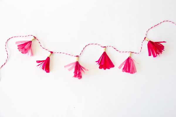 Mini Tassel Garland
