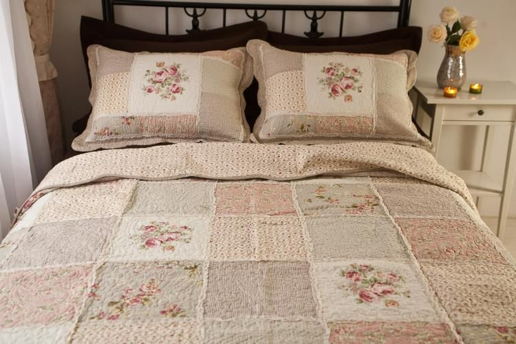 Queen Patchwork Quilt
