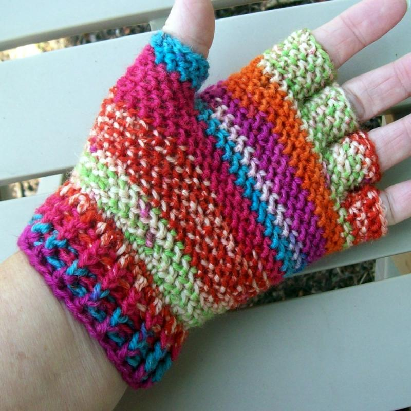49 Knitting Patterns for Fingerless Gloves - The Funky Stitch