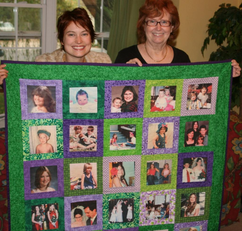 Family Photo Quilt Patterns