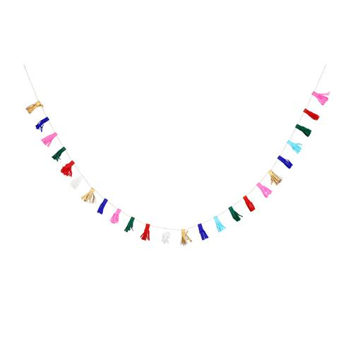 Making Tassel Garland