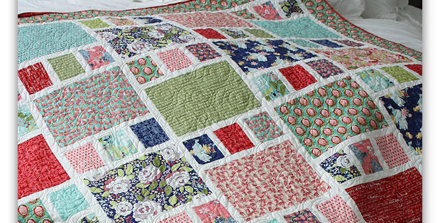 Patchwork Quilt Pattern for Beginners
