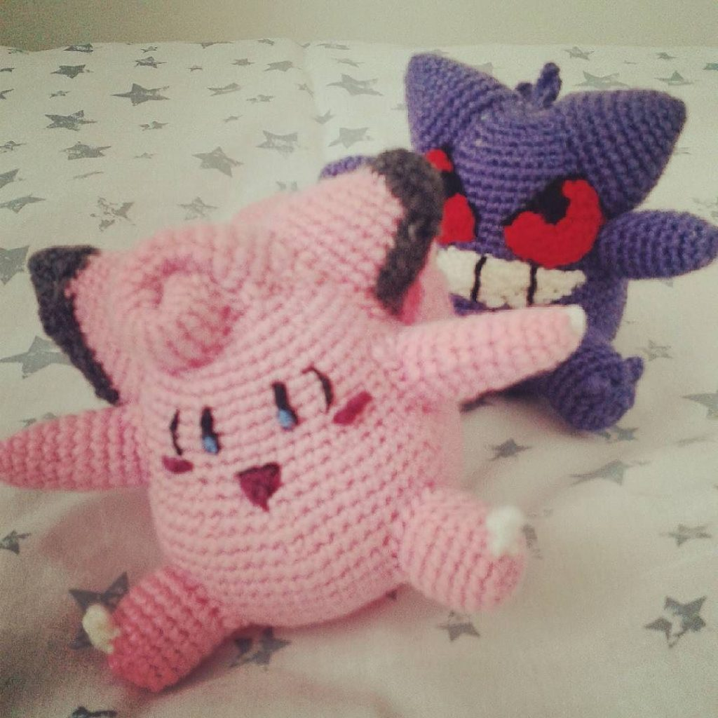 Pokémon Gengar Crochet Pattern