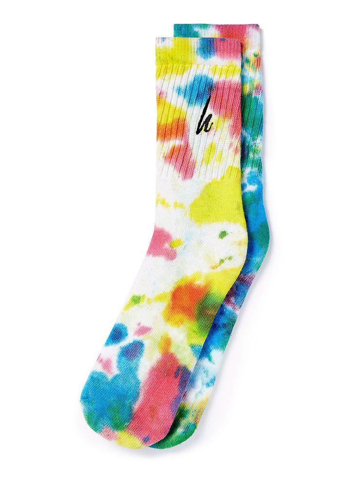 Mens Tie Dye Socks