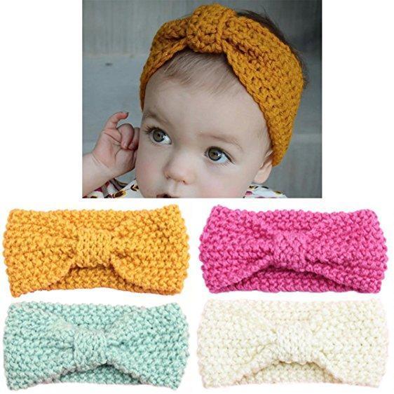 Knit Baby Headband
