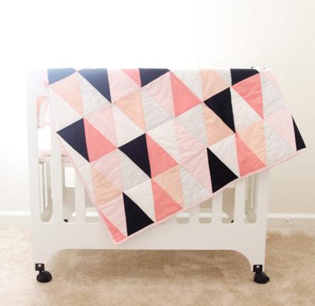 Simple Triangle Block Sew-Along