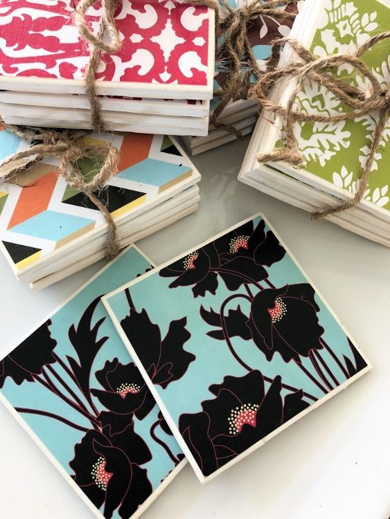 Tile Coasters Picture