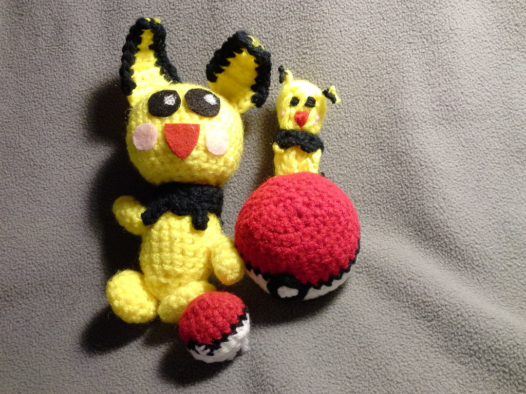 Crochet Pokémon Pichu