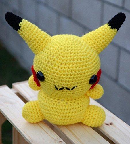 Crochet Pokémon Pikachu