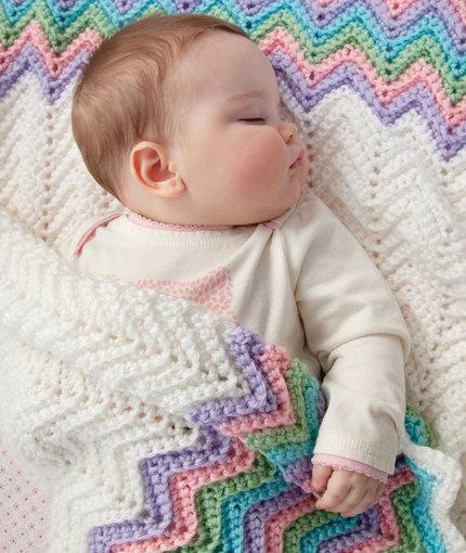 Filet Crochet Pattern for Baby Afghan