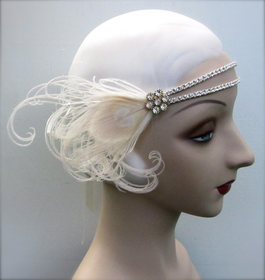 Jeweled Headband Using Feather Pad