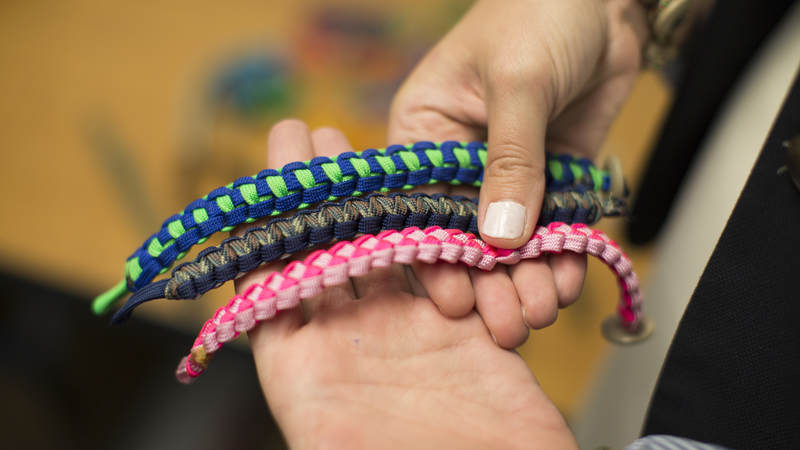 Simple Hemp Wick Bracelet