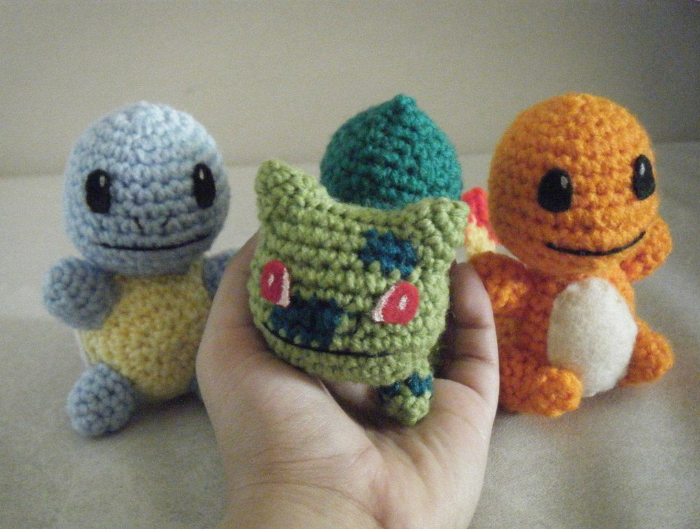 Crochet Stuffed Pokémon