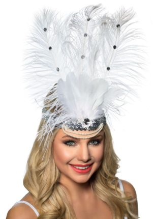 Vegas Feather Headband