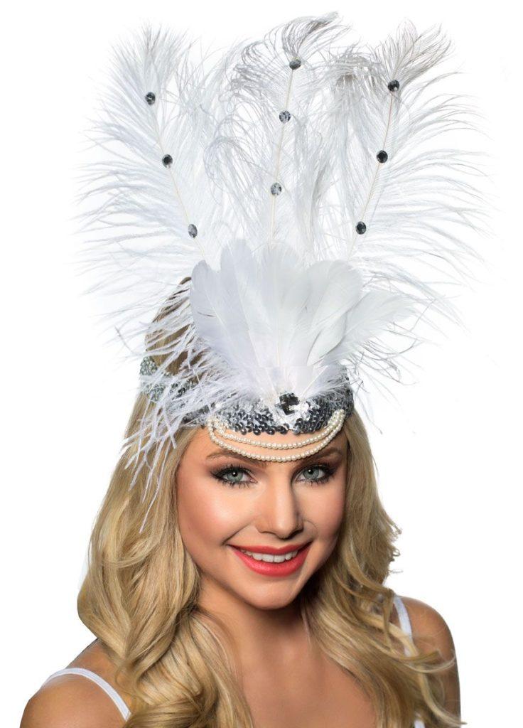 Vegas Feather Headband