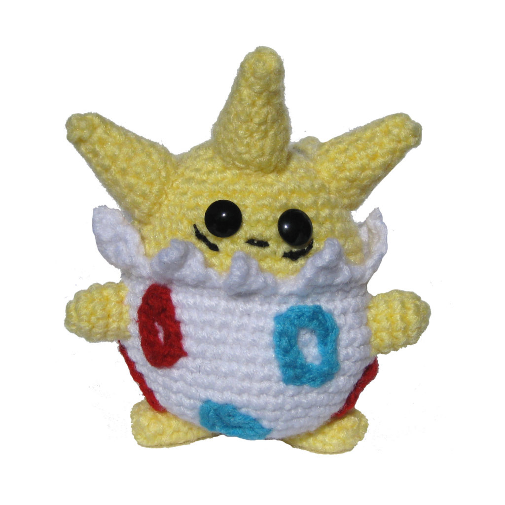 Amigurumi POLIWHIRL Crochet Pokemon - Amigurumi Crochet Characters ... | 1024x1024