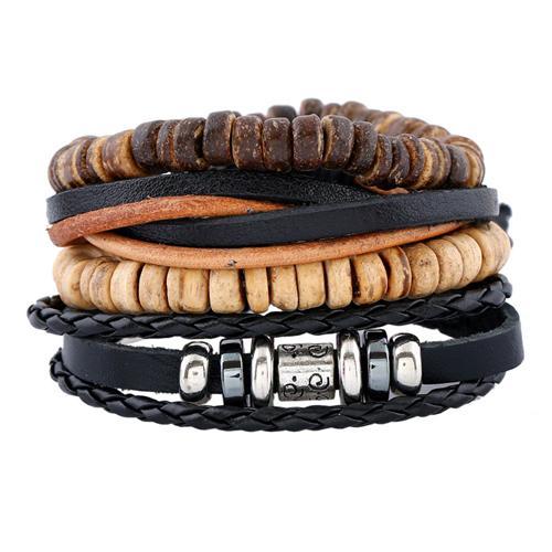 Hemp Leather Bracelet