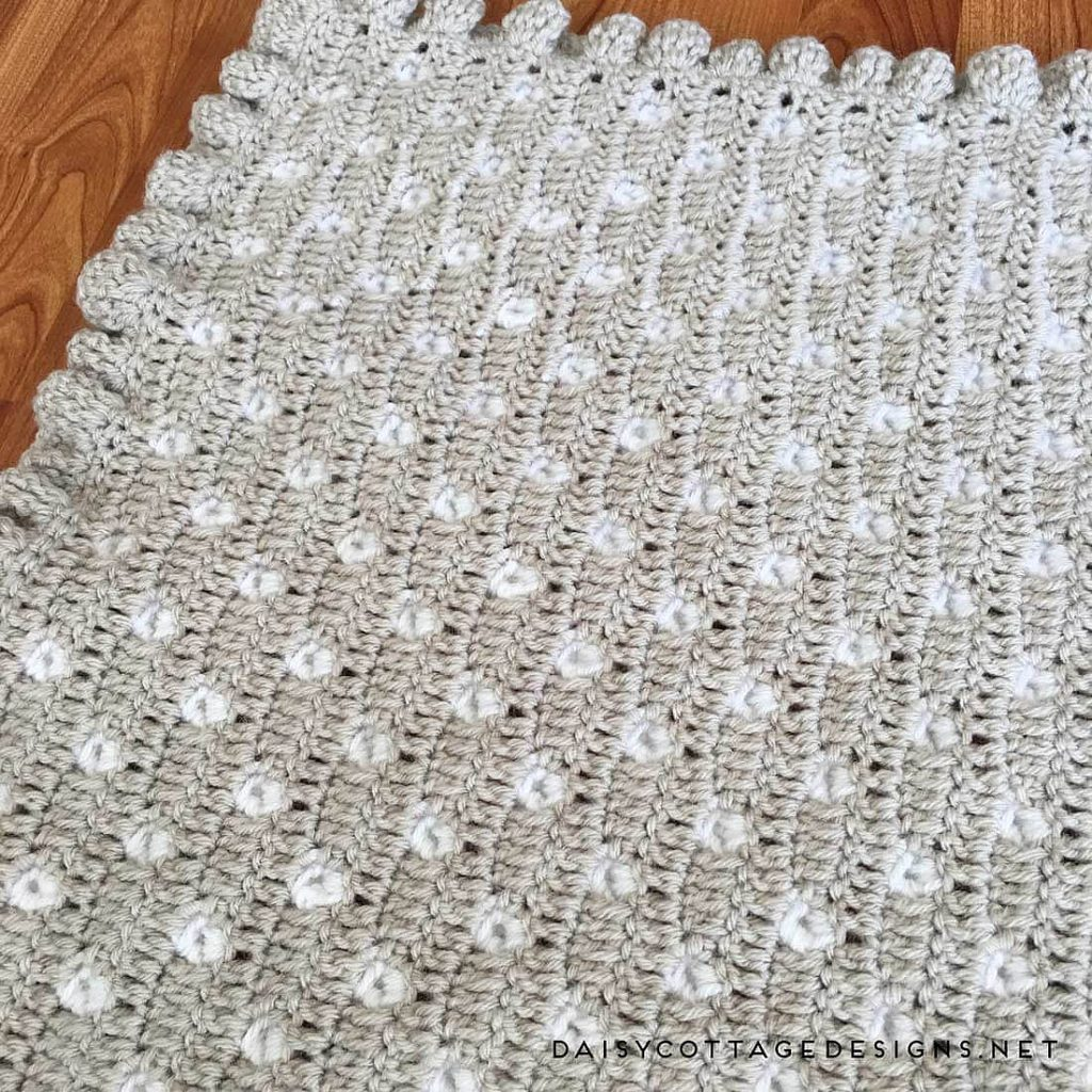 Lacy Baby Afghan Crochet Pattern