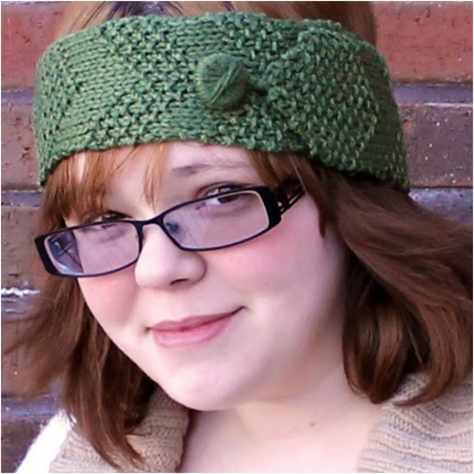 Knit a Stylish Winter Headband