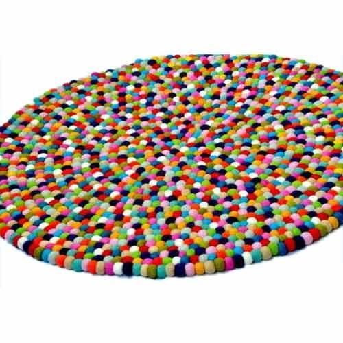 Felt Ball Rug Picture
