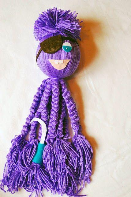 Octopus Yarn Doll - Interesting Pattern