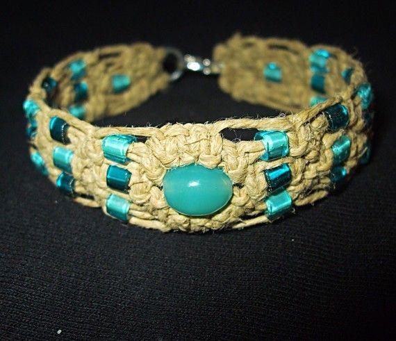 Macramé Hemp Bracelet