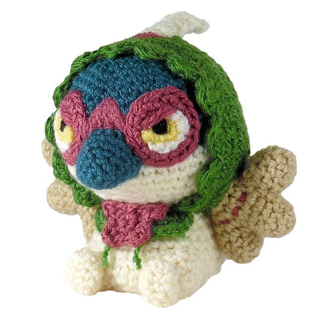 Crochet Pokémon Plush Pattern