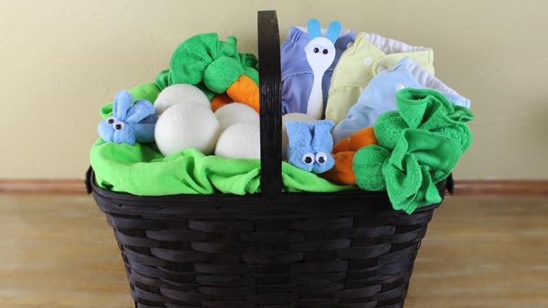 DIY Washcloth Bunnies