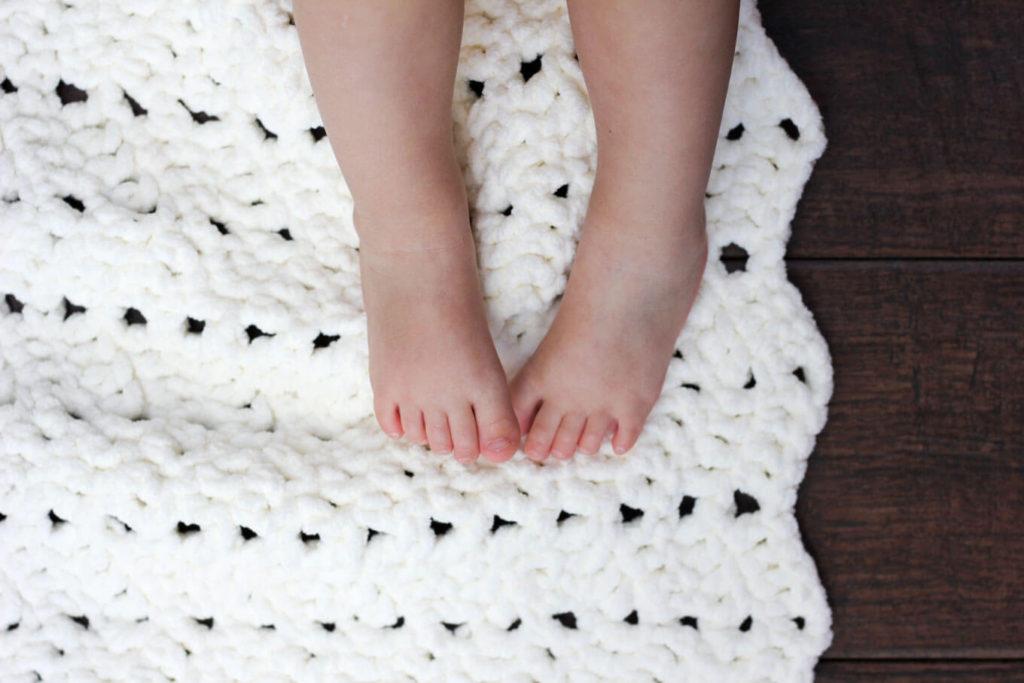 Easy Crochet Baby Afghan