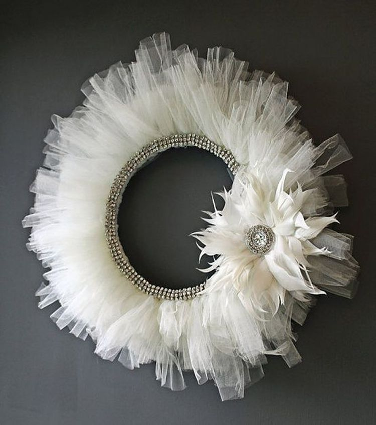 Gorgeous Tulle Wreath