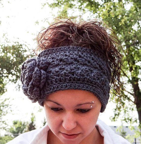 45.-Fleece-Lined-Crochet-Headband-with-Flower