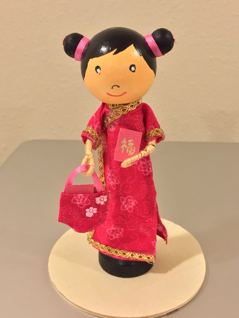 Chinese Clothes Pin Dolls